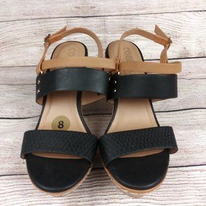 Coconuts by Matisse Size 8 Cork Wedge